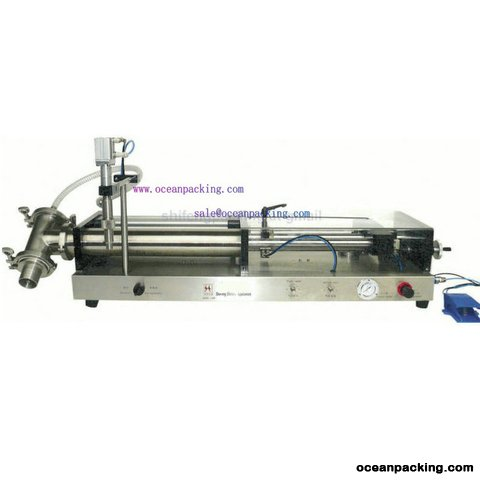 OPFL semi automatic piston filling machine