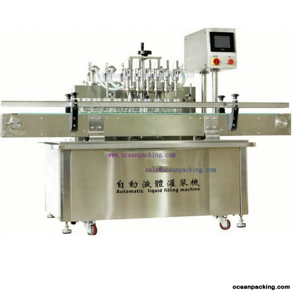 OPFL-A6 Large Capacity Automatic Liquid Filling Machine