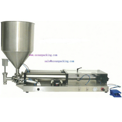 <b>OPFP semi automatic filling machine with hopper</b>