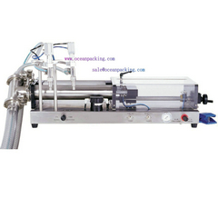 OPFL-2 Pneumatic Semi-automatic Liquid Filling machine Serie